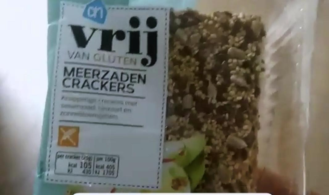 Product Review: Vrij van Gluten, meerzaden crackers van Albert Heijn